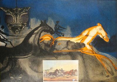 Salvador Dalí, 'American Trotting Horses No.2', 1971