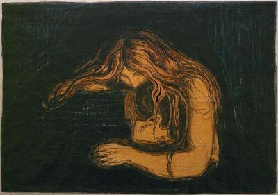 Edvard Munch, 'Vampyr II (Vampire II)', 1895-1902