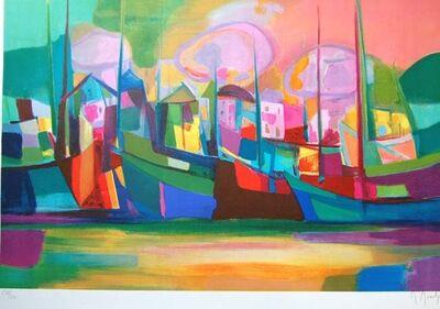 Marcel Mouly, 'Soleil Couchant Sur Le Port', 2002