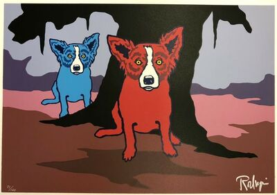 """George Rodrigue, '""""Don't Like Bein' Blue""""', 1993"""