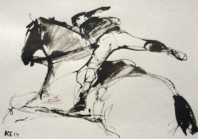 "Konstantin Batynkov, '""Horses"" 1', 2014"