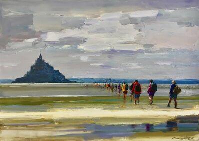 Gerard Mortier, 'Les Pelerins de la Baie (Mt. St Michel)'