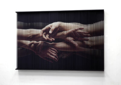 Sung Chul Hong, 'string_hands_0362', 2016