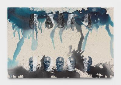 Kandis Williams, 'Primitive accumulation II: Rorschach, Ife', 2019