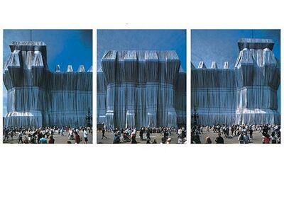 Christo and Jeanne-Claude, 'Reichstag Westfassade Triptychon', 1990-2000