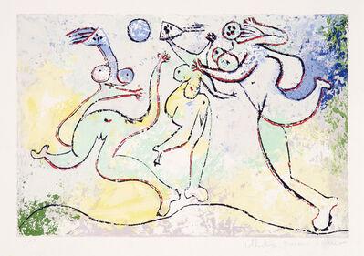 Pablo Picasso, 'Trois Femmes Jouant au Ballon sur la Plage, 1932', 1979-1982