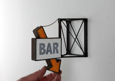 Drew Leshko, 'Bar with Orange Arrow', 2019