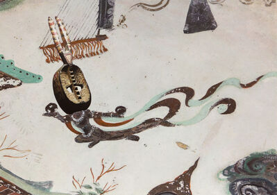 Xu Zhen 徐震, 'Evolution-North Wall of Mogao Cave No.172, Mossi Mask', 2018