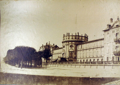 Louis-Rémy Robert, 'Château', ca. 1850