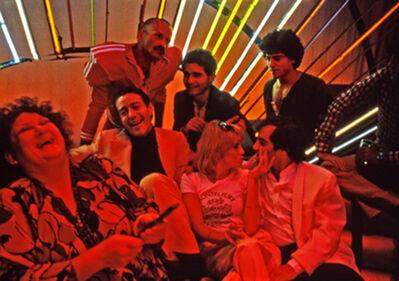 Harry Benson, 'Halston, Pat Ast, Steve Rubell, Lorna Luft, and friends at Studio 54, New York', 1978