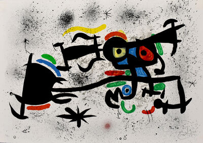 Joan Miró, 'China Town | Barrio Chino', 1971