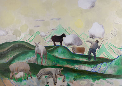 Duan Jianyu 段建宇, 'The Lonely Shepherd ', 2012