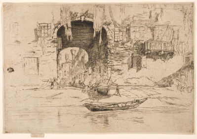 James Abbott McNeill Whistler, 'SAN BIAGIO', 1879-1880