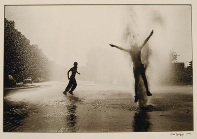 Nick Danziger, 'Glasgow - Broken fire hydrant, Parkhead', 1994