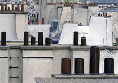 Michael Wolf (b. 1954), 'Paris Rooftops 2', (1954-2019)