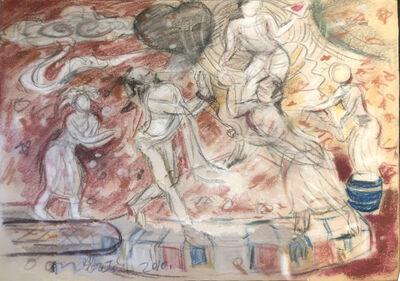 Pei Zhuangxin, 'Sketch ⼿稿', 2010