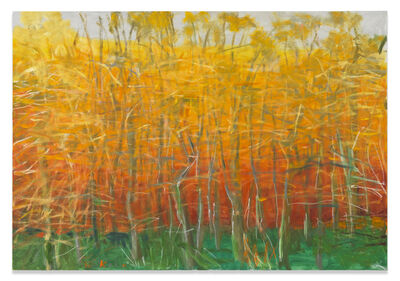 Wolf Kahn, 'Maple Trees in Fall', 2008