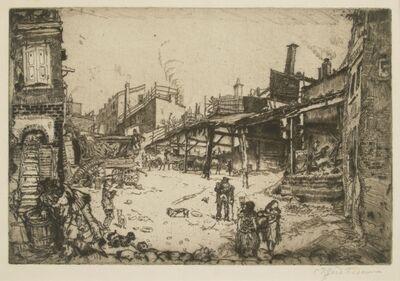 Clifford Isaac Addams, 'Stables, Philadelphia', 1912