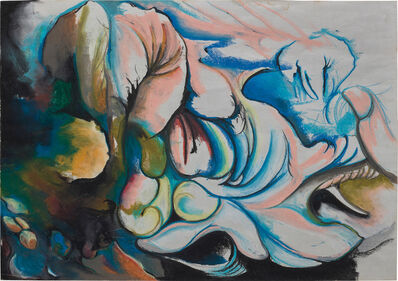 David Kim Whittaker, 'Elephant, Tree, Whale', 1989 -1991