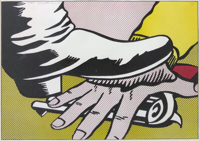 Roy Lichtenstein, 'FOOT AND HAND (C. II.4)', 1964