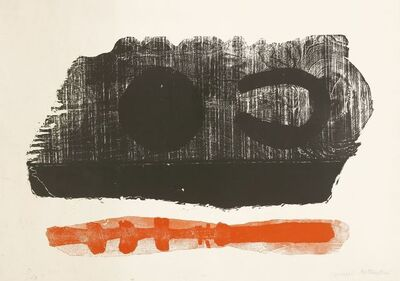 Michael Rothenstein, 'RED AND BLACK 1'