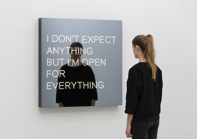 Jeppe Hein, 'I Don't Expect Anything But I'm Open For Everything'