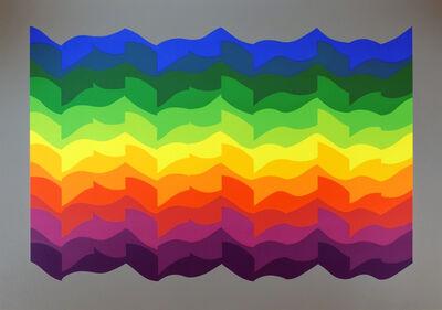 Julio Le Parc, 'Ondes Alternées', 1972