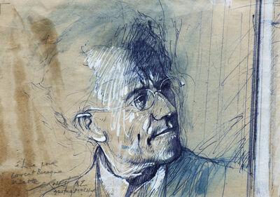 Ernest Pignon-Ernest, 'Concert Baroque - Gustav Mahler ', 1982