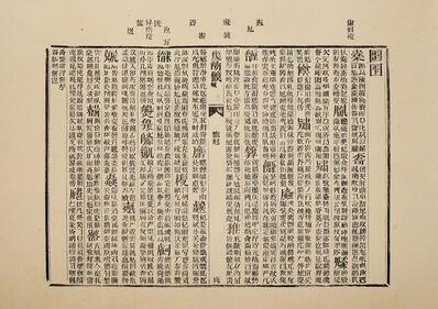 Xu Bing 徐冰, 'Book from the Sky, Printed Sheet No. 7 天书单张7号', 1987-1991