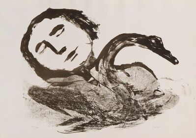 Sidney Nolan, 'Leda and the Swan', 1961