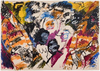 Robert Colescott, 'Out Gunned', 1993