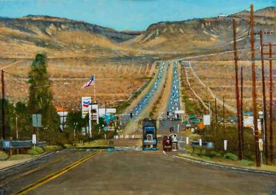 Clive McCartney, 'On The Road, Baker, Nevada', 2019