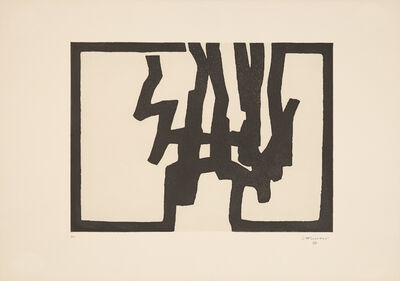 Eduardo Chillida, 'Inguru I', 1968