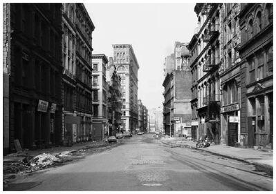 Thomas Struth, 'Broome Street, NewYork/Soho', 1978-2012