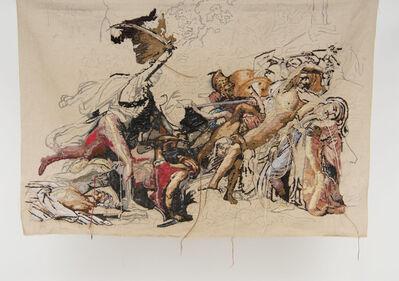 """Bertille Bak, 'Banner 4, from """"La révolte du Caire"""", Anne Girodet de Roucy Trioson', 2009"""