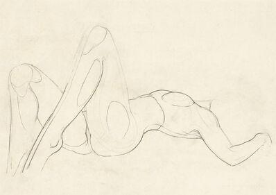 Alfred Czerny, 'Reclining Nude', ca. 1980