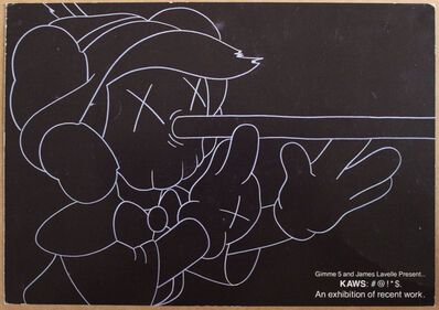 KAWS, 'Pinocchio (Elms Lesters invite from 2002)', 2002
