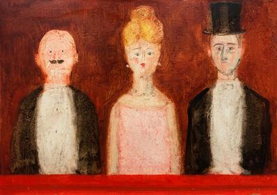 Antonio Bueno, 'Tre Figure', '60