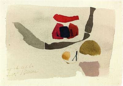 Julius Bissier, 'H.16.oct.64', 1964
