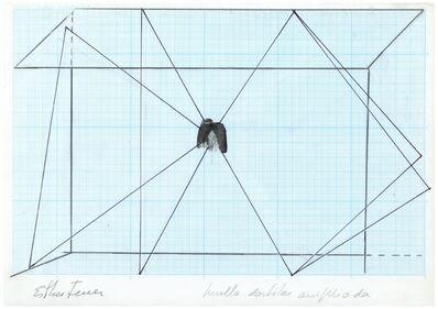 Esther Ferrer, 'Proyectos espaciales #3', 1980