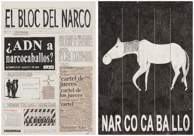 Camilo Restrepo, 'El Bloc Del Narco #2', 2016