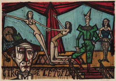 Bernard Buffet, 'La parade (The Parade), from Mon cirque (My Circus)', 1968