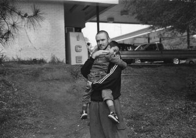 Mark Steinmetz, 'Atlanta, GA (father and son by gas station)', 2007