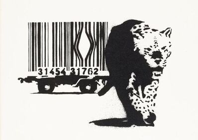 Banksy, 'Barcode (Signed)', 2004