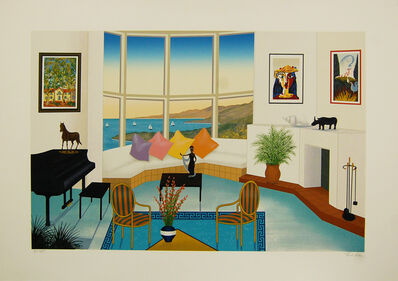 Fanch Ledan, 'Interior with Picasso'