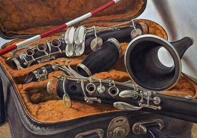 Michael Taylor (b. 1952), 'Excavated Clarinet', 2018