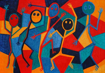 Angelo Pioppo, 'Ritual Dancers n°1', 2019