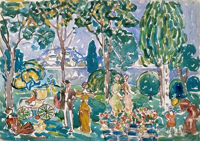 Maurice Brazil Prendergast, 'The Park, Salem', about 1913-1915