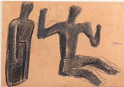 Mario Sironi, 'Due figure', prima metà anni '40
