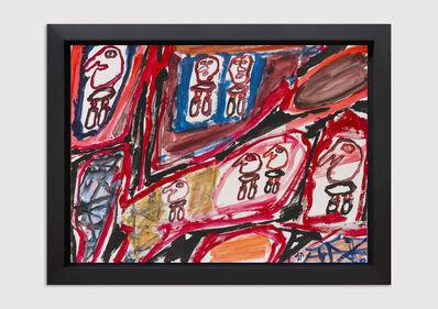 Jean Dubuffet, 'Site avec 7 Personnages', 1981